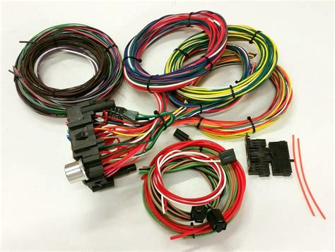 Ez Rod Wiring Harnes Kit by Gearhead Usa Made Delco Rod 21 Circuit Ez Wiring