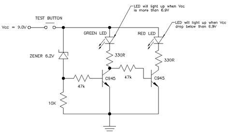 Low Battery Indicator Circuit