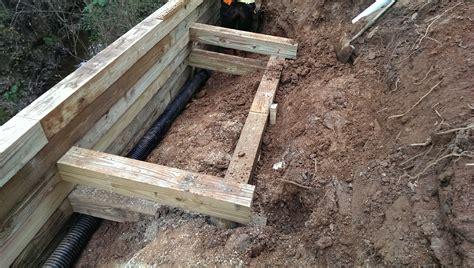 wood retaining wall construction retaining walls sca construction