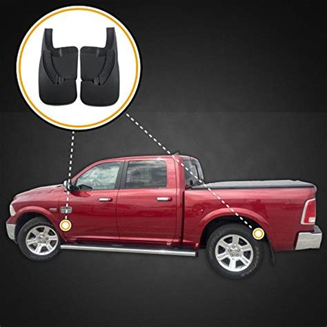 Premium Heavy Duty Molded Splash Guards Mud flaps for 2009