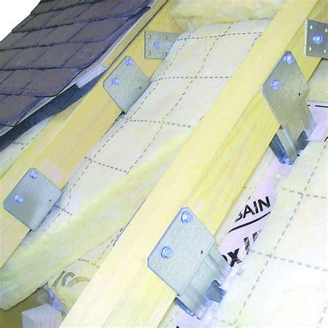 fixation pour isolation de toiture par l ext 233 rieur faynot