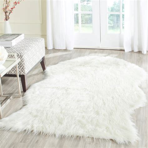 Imitation Rugs by Fss117a Rug From Faux Sheep Skin By Safavieh Plushrugs