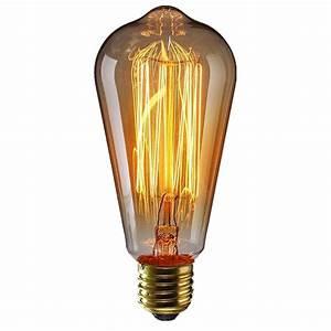 Ampoule Vintage E14 : ampoule incandescente e27 style r tro ampoule vintage ~ Edinachiropracticcenter.com Idées de Décoration