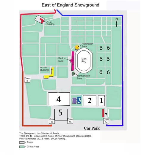 bob evans antique fairs east  england showground map