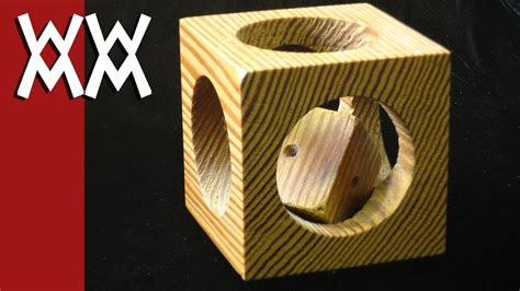 mystery cube   cube puzzle woodworking project youtube