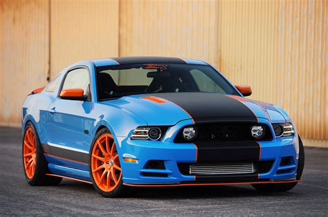 Ford Mustang Gt Blue Finest Lightning Blue Metallic Ford