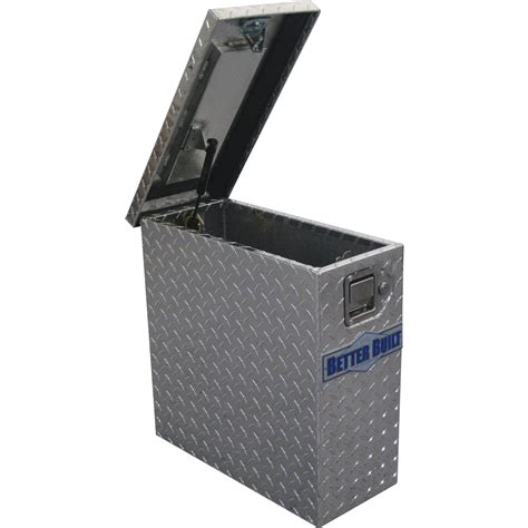 built sidebed truck tool box aluminum diamond