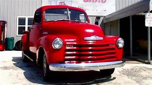 1952 Chevrolet Pickup Truck Straight 6 3 Spd Manual