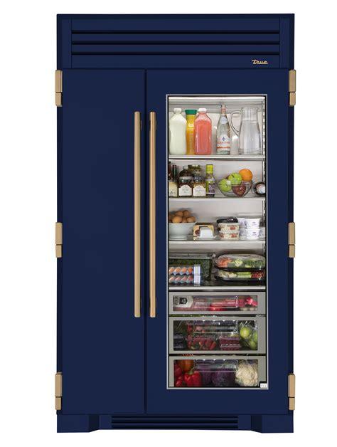 true residential debuts glass door fridge residential