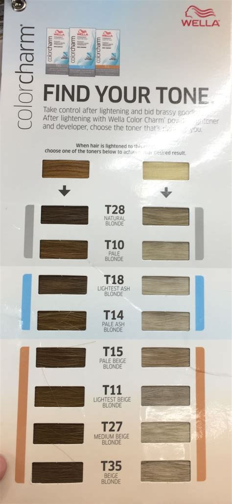 wella color charm toner chart the 25 best t28 wella toner ideas on wella