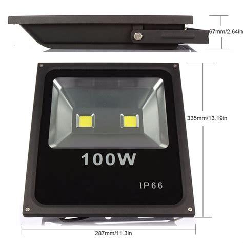 lu natal 100 led holofote led 100w iluminação luminárias exterior ip66