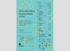 Calendario y horarios de la Fashion Week Madrid 2017