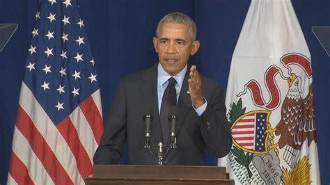 obama barack president speech trump donald