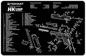 Gunsmith Cleaning Work Tool Bench Parts Diagram Heckler