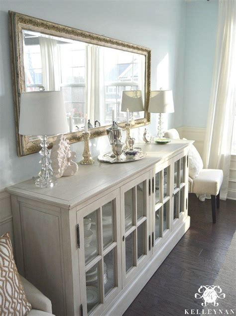 dining room sideboard ideas  pinterest dining room buffet credenza  mirrored sideboard