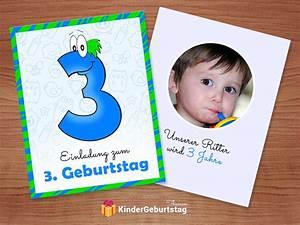 Kindergeburtstag 3 Jahre Spiele : einladung 3 geburtstag ausdrucken und selber basteln ~ Whattoseeinmadrid.com Haus und Dekorationen