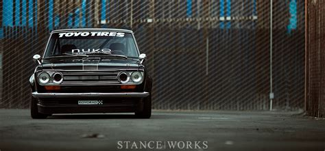 Datsun Go 4k Wallpapers by Stance Works Dominic S Datsun 510