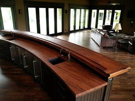 bathrooms decorating ideas devos woodworking mesquite bar top in traditional