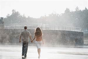 The couple in the rain Stock Photo - People stock photo ...