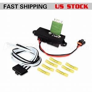 Hvac Blower Motor Resistor W   Wire Harness For 00