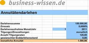 Excel Formeln Automatisch Berechnen : anuit tendarlehen berechnen excel tabelle business ~ Themetempest.com Abrechnung