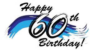 Image result for free happy 60th birthday clip art
