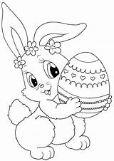 Easter Coloring Bunny Printable Sheets Hard Colouring Christian Valentine Rabbit Mandala Monster Roll sketch template