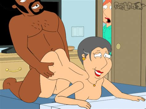 lois griffin watching her mom barbara get her