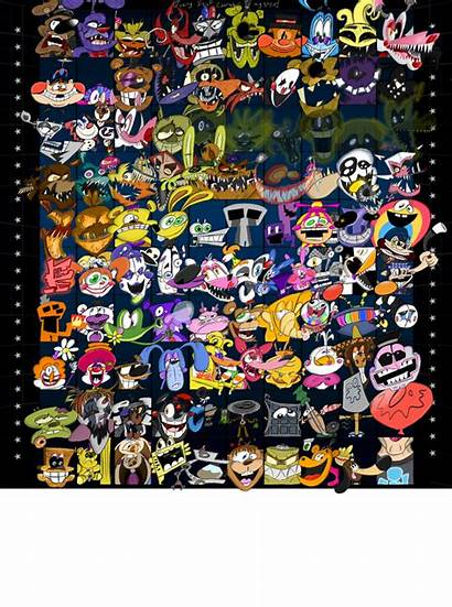 Fnaf Every Character Drew Almost Fivenightsatfreddys