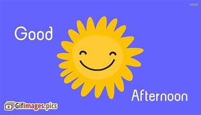 Sun Afternoon Animated Smiley Quotes English