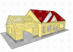 House under construction Vector Image #36870 – RFclipart