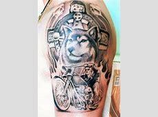 Tatouage Dos Homme Aigle Tattooart Hd