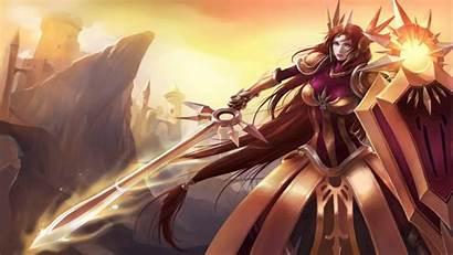 Legends League Leona Desktop Lol