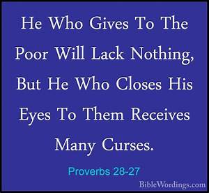 Proverbs 28 - Holy Bible English