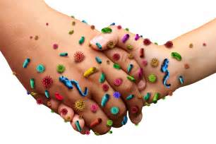 Germs and Bacteria On Hands