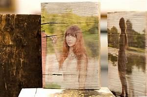 Fotoabzug Auf Holz : vintage holz druck auf holz ~ Orissabook.com Haus und Dekorationen