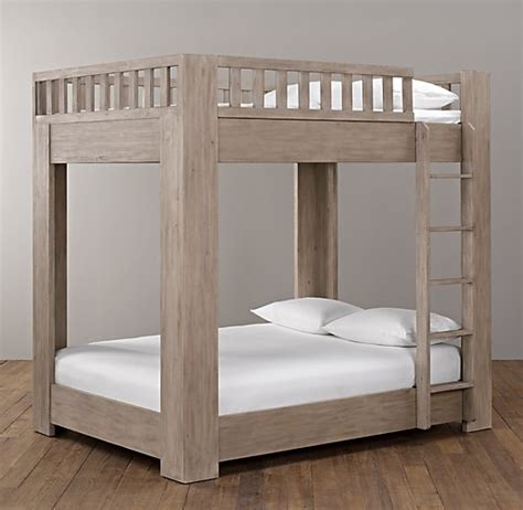 restoration hardware bunk bed callum platform bunk bed all beds