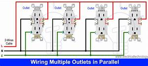 How To Wire An Outlet Receptacle  Socket Outlet Wiring