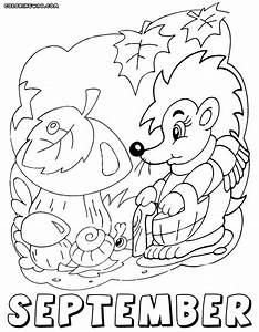 september coloring pages - months coloring pages coloring pages to download and print