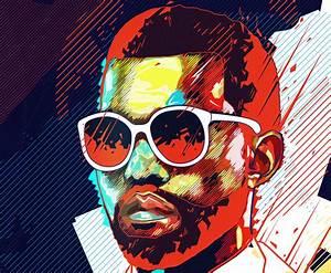 Kanye West Album Artwork por Noem9 | Illustration | Pinterest