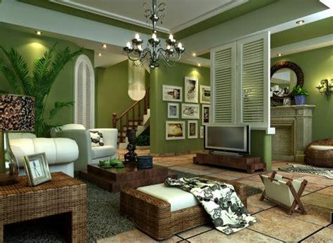 tropical bedroom decorating ideas salas en color verde y marrón salas con estilo