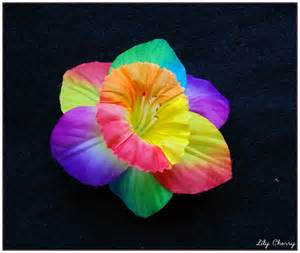Le Multicolore by Fleur Artificelle Jonquille Multicolore Pour Barrette