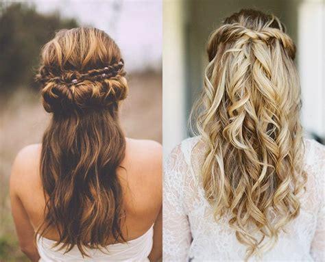 Wedding Hairstyles Half Up Half Down : Half Up Half Down Wedding Hairstyles