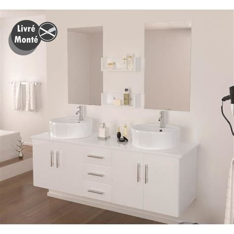 ensemble salle de bain vasque 150 cm achat vente ensemble meuble sdb