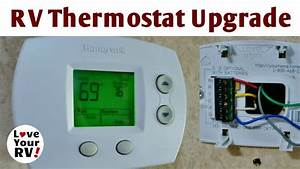 Rv Thermostat Upgrade Honeywell Focuspro 5000