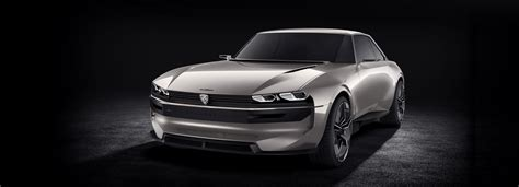 Peugeot Ar by The Peugeot E Legend Concept Blends Retro Styling With