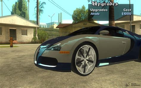 Luxury Wheels Pack For Gta San Andreas