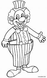 Clown Coloring Pages Happy Drawing Draw Evil Printable Print Creepy Cool2bkids Scary Colorings Getcolorings Getdrawings sketch template