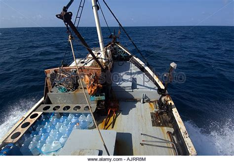 Deck Boat In Ocean by Fishing Boat Rough Sea Stock Photos Fishing Boat Rough