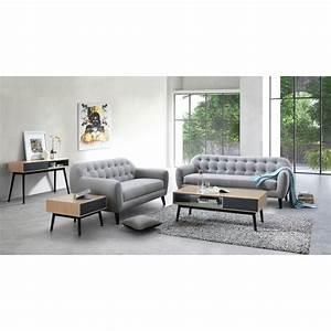Bout De Canapé Design : table d 39 appoint bout de canap design 1 tiroir adamo en ~ Dode.kayakingforconservation.com Idées de Décoration